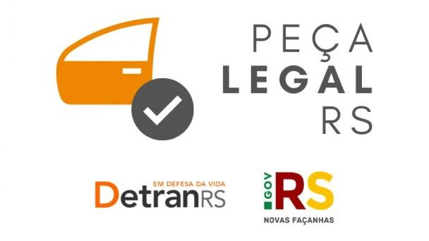 O DetranRS lança, nesta segunda-feira, o site oficial Peça Legal, que possibilita a consulta de peças usadas disponíveis para compra nos Centros de Desmanche de Veículos credenciados.